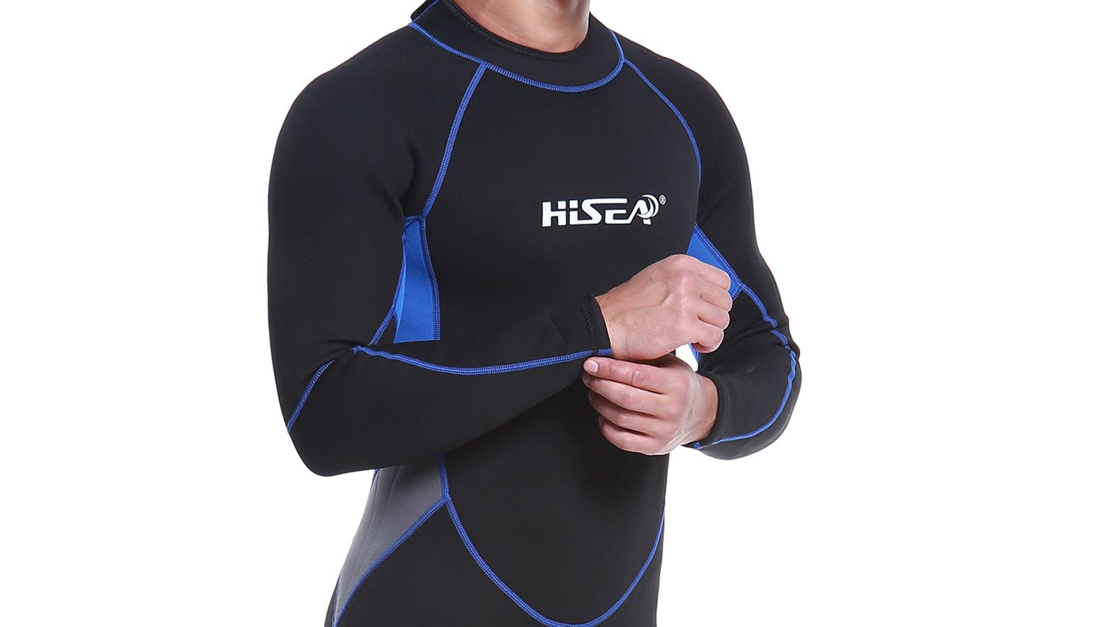 мужской гидрокостюм, плечевой пояс