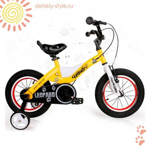 "Велосипед Royal Baby ""Leopard Steel 18"" (Роял Беби)"