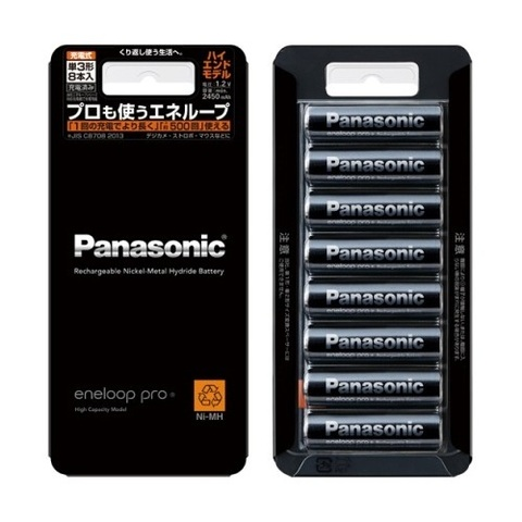 Аккумулятор Panasonic BK-3HCC/8 8AA 2450 mAh