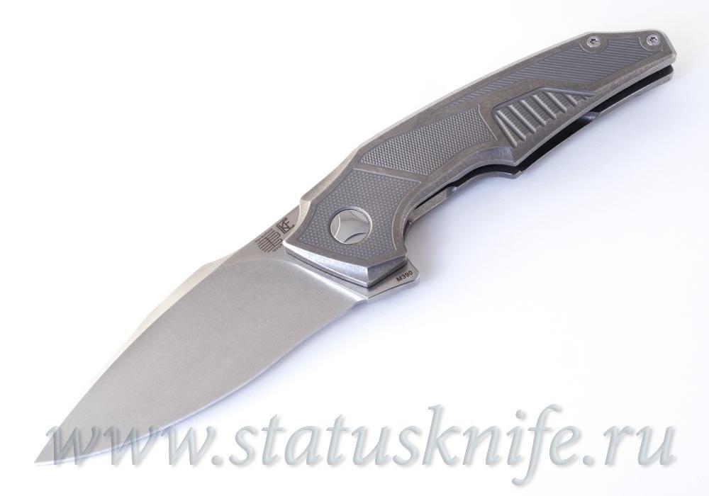 Нож Muscle SW CKF and Tashi Bharucha Limited - фотография