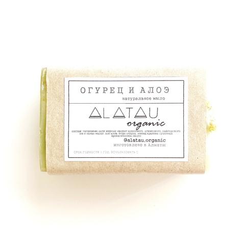 Мыло Огурец и алоэ (сезонное) (Alatau Organic)