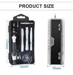 Набор инструментов для точных работ с гибким валом и сменными битами KniknakTech 122 в 1