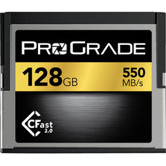 Карта памяти ProGrade 128GB CFast 2.0 550 - 450MB/s for Blackmagic