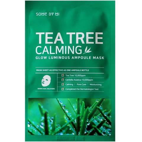 Some By Mi Маска тканевая ампульная Tea Tree  Calming Glow Luminous Ampoule Mask 25 гр