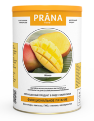 Коктейль питательный фруктовый, Prana Food, Манго, 450 г