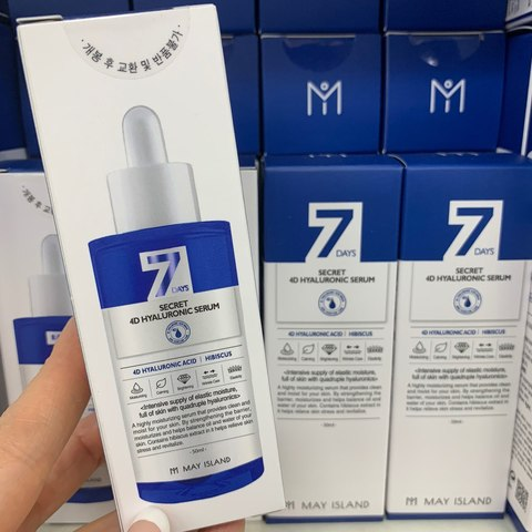 MAY ISLAND 7 DAYS Secret 4D Hyaluronic Serum