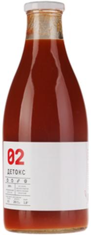 Сок Детокс -02 б/сах 0,33л тыква/томат/огурец/лимон/имбирь