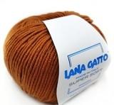Пряжа Lana Gatto Supersoft 14198 темная горчица