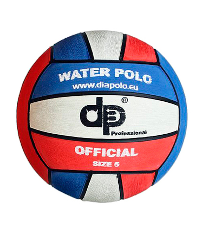 НОВИНКА!!! Тренировочный ватерпольный мяч DIAPOLO Official Ball W5 Blue-White-Red Размер 5 мужской арт.B-DPI5-060308