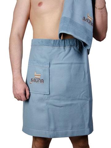 DUFOUR  ДУФОУР набор мужской для сауны голубой Maison Dor Турция
