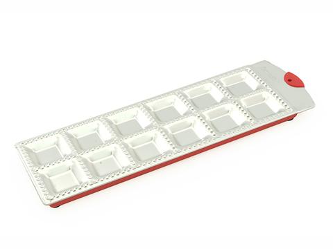 8576 FISSMAN Форма для приготовления равиоли на 12 квадратных ячеек