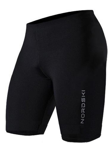 Шорты обтягивающие Nordski Premium Jr.Run Black/Blue подростковые