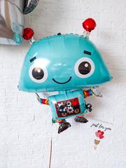 Фольгированный шар робот