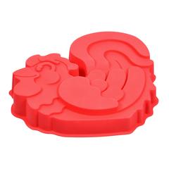 Форма для выпечки из силикона «Петушок» 25х20х4 см