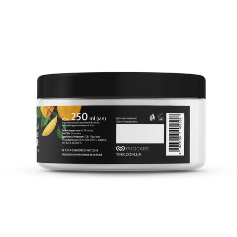 Розгладжуюча маска для волосся Манго-Рідкий шовк Tink 250 мл (5)