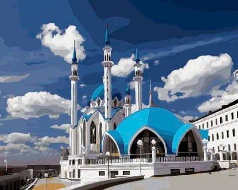 Алмазная Мозаика 40x50 Мечеть Кул Шариф (арт. GA78107)