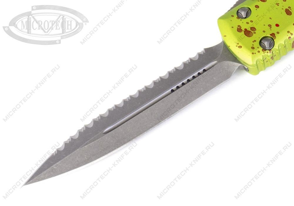 Нож Microtech Ultratech Zombie Serrated 122-12Z - фотография