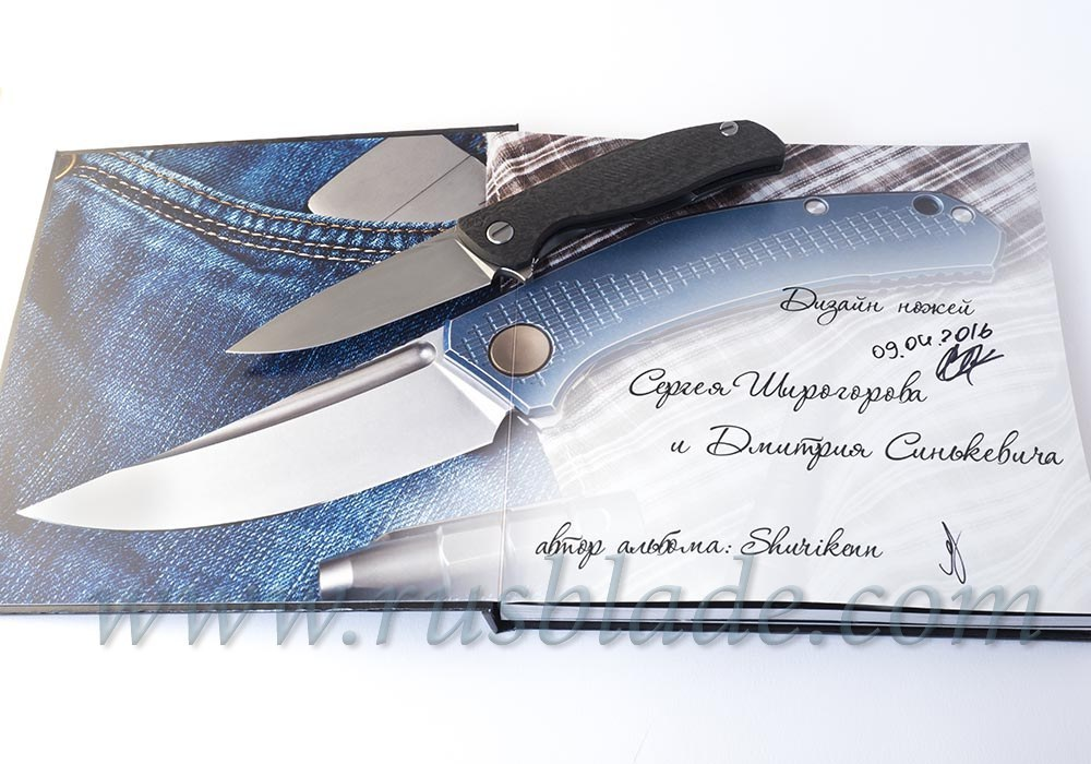 Exclusive Photo Album of Shirogorov knives - фотография