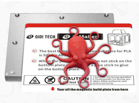 Магнитная наклейка на печатный стол QIDI X-Maker