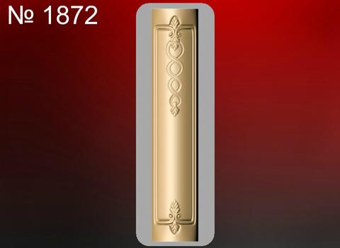 Силиконовый молд № 1872  Пилястра