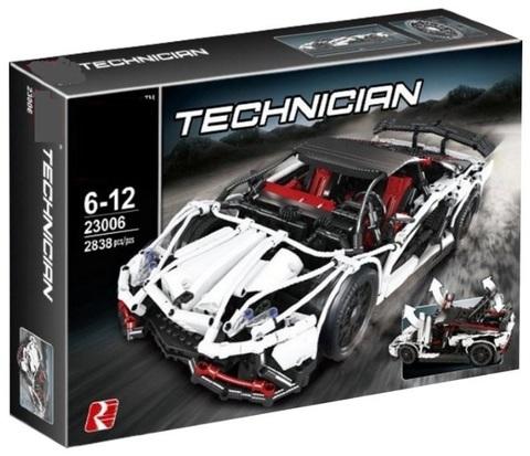 Конструктор King Technician 93004 Lamborghini Aventador