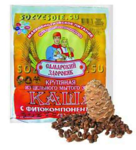 Каша Самарский Здоровяк №57 Кедровая