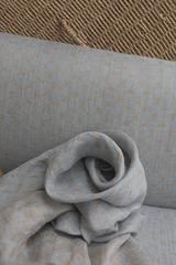Жаккард , цвет стальной беж-меланж
