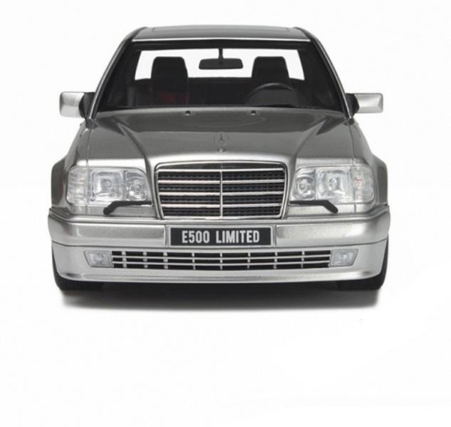 Коллекционная модель Mercedes-Benz W124 E500 Limited 500 1994 Silver