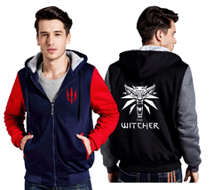 Куртка утепленная с капюшоном Ведьмак — Jacket Withcer