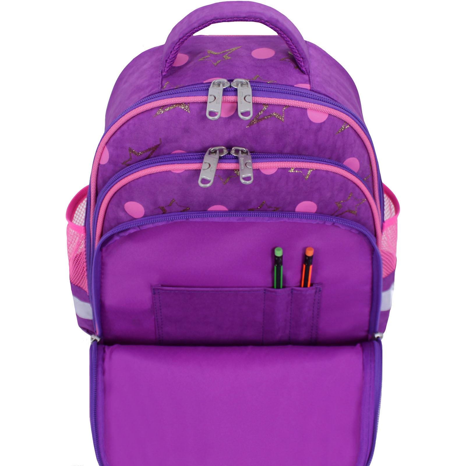 Рюкзак школьный Bagland Mouse 339 фиолетовый 428 (0051370) фото 5