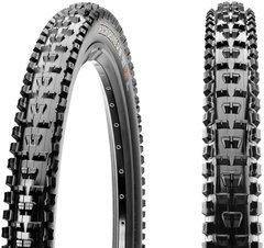 Велопокрышка Maxxis High Roller II 27.5x2.30 58-584 60 Foldable 845 Dual 60 Black EXO/TR - 2
