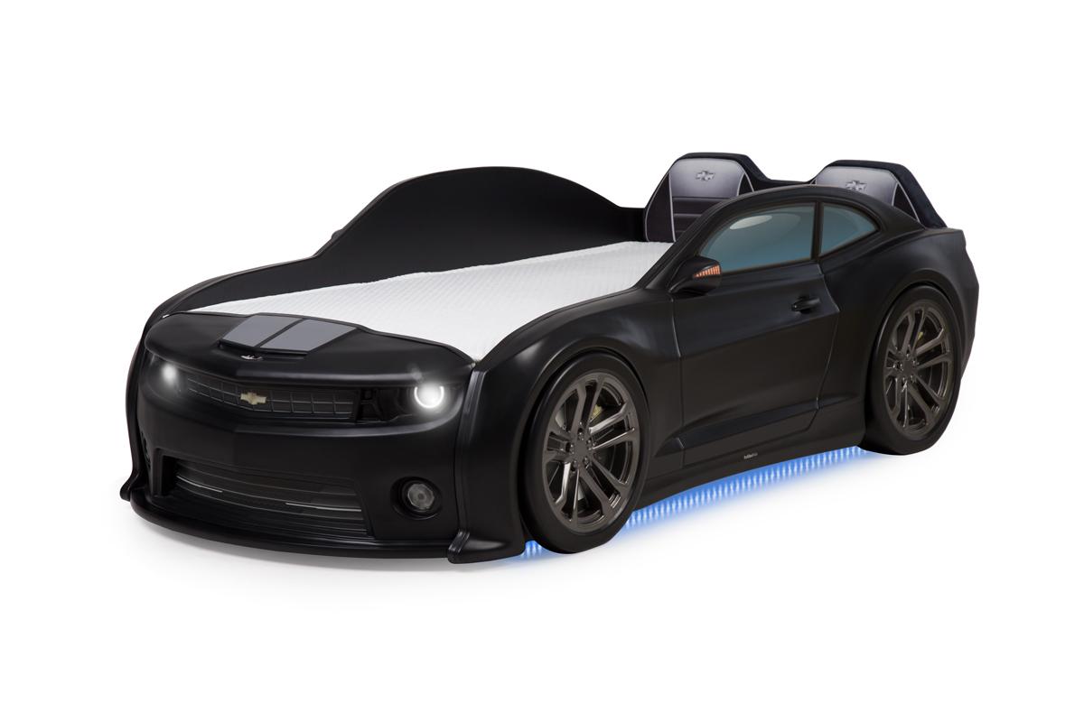"""Кровать-машинка объемная EVO """"Camaro"""" чёрный"""