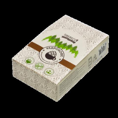 Кедрокофе Антиоксидантный с чагой, без сахара, порционный 15 шт х 25 г