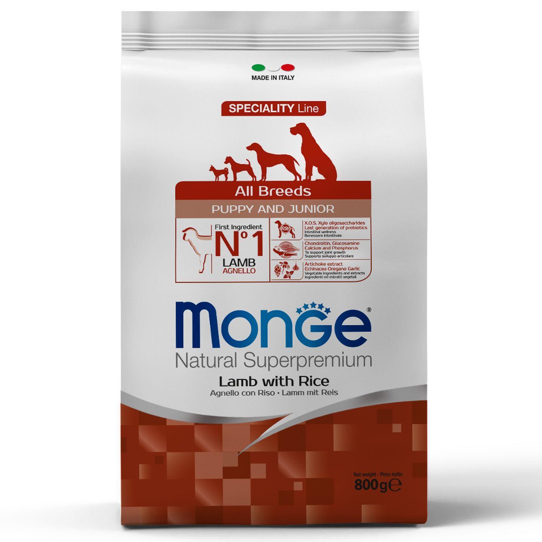 Сухой корм Корм для щенков Monge Puppy&Junior с ягненком и рисом 70011259_1.jpeg
