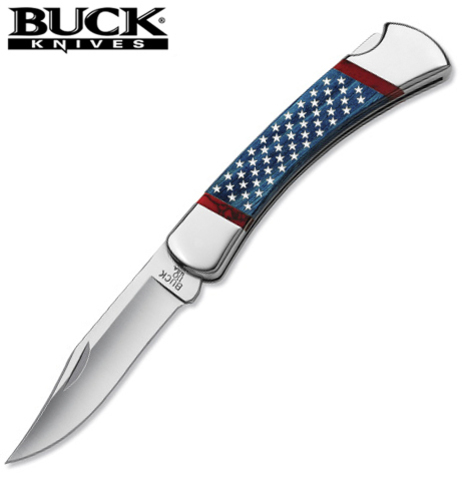 Нож BUCK модель 0110BLSUSA Stars and Stripes