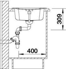 Мойка Blanco Enos 40S - схема