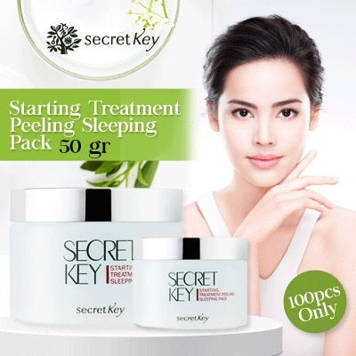 Лечебная ночная маска-пилинг  SECRET KEY STARTING TREATMENT PEELING SLEEPING PACK (100ml)