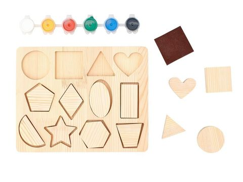Рамки-вкладыши для творчества Геометрия, Smile-Decor