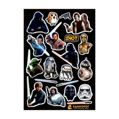 Набор стикеров Star Wars #2