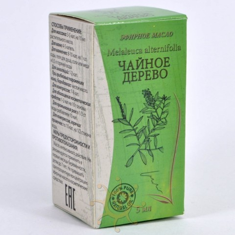 Эфирное масло Чайное дерево Lavari, 5мл