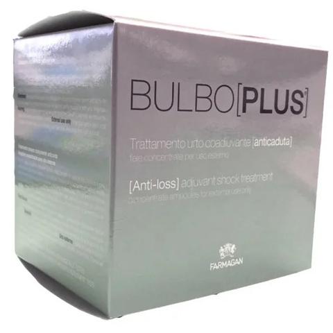 Farmagan Bulboplus: Лосьон против выпадения и стимуляции роста волос в ампулах (Anti-Loss Adjuvant Shock Treatment), 10*7,5мл