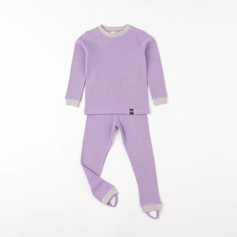Thermal underwear set - Lilac