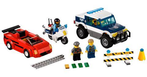 LEGO City: Погоня за преступниками 60007 — High Speed Chase — Лего Сити Город