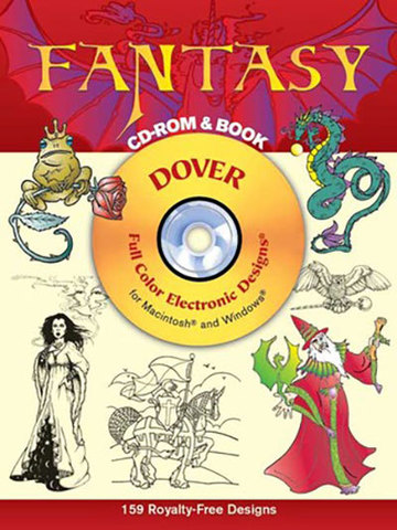 9780486997377 - Fantasy CD-ROM and Book