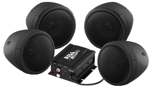 Аудиосистема Boss Audio MCBK470B c Bluetooth, 1000 Вт, черный