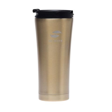Термокружка коричневая (0,45 л) STINGER HY-VF143 Brown
