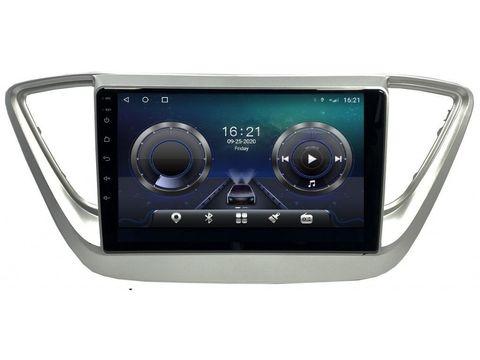 Магнитола для Hyundai Solaris (17-20) Android 10 6/128GB IPS DSP 4G модель CB-3074TS10