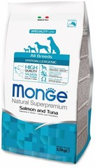 Monge Speciality Line Adult Dog All Breeds Hypoallergenic Salmone&Tuna