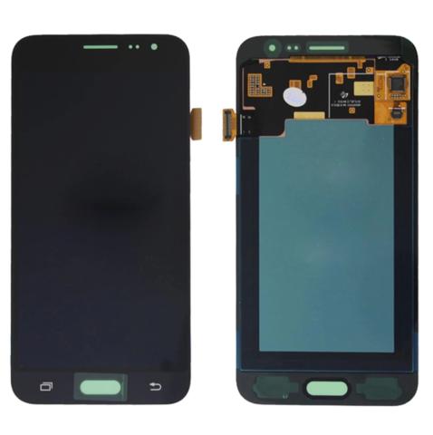 LCD SAMSUNG J3 (2016) J320 + Touch Black OLED MOQ:5
