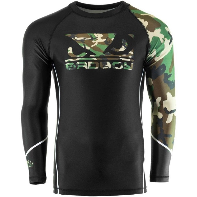 Термобелье/Рашгарды Рашгард Bad Boy Soldier Rash Guard - Black/Сamo 1.jpg